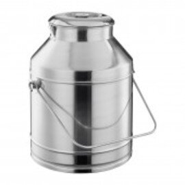 transport jug with lid stainless steel 25 ltr  Ø 330 mm  H 470 mm product photo