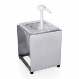sauce dispenser gastronorm 3.4 ltr  L 180 mm  H 210 mm | suitable for GN 1/6 product photo