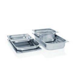 gastronorm container GN 1/4  x 65 mm GN 63 perforated stainless steel product photo