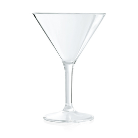 Martini glass BAR polycarbonate clear 30 cl | reusable product photo