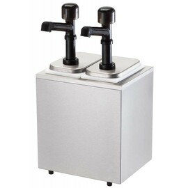 sauce dispenser 2 x 3.3 ltr coolable  | handling per push button  L 276 mm  H 516 mm product photo