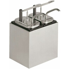 sauce dispenser 2 x 3 ltr  | handling per lever  L 245 mm  H 235 mm product photo