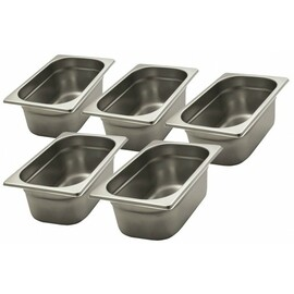 container set stainless steel 260 mm  x 160 mm  H 100 mm product photo