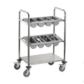 cutlery trolley INES  H 980 mm product photo