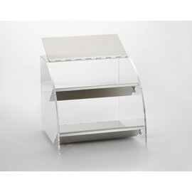 countertop display 642D 2 compartments  L 250 mm  H 230 mm product photo