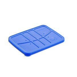 silicone lid silicone blue  L 235 mm  B 175 mm  H 15 mm product photo