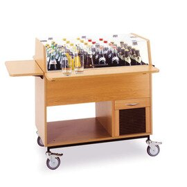 beverage trolley 0185 beechwood coloured 230 volts product photo