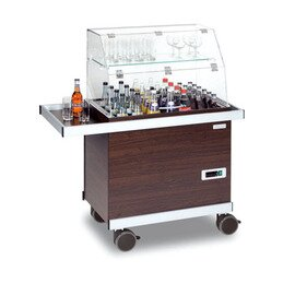 beverage trolley 0197 wenge coloured 230 volts product photo