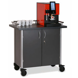 Service Station | coffee Station anthracite 2 wing doors product photo