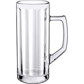 beer mug 33.5 cl with relief with mark; 0.25 ltr with handle product photo