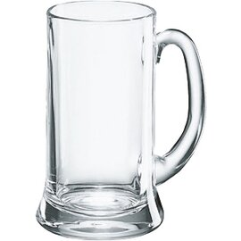 beer mug ICON 27.5 cl with mark; 0.2 ltr with handle product photo