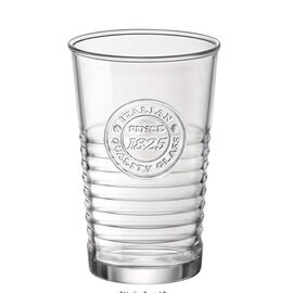 longdrink glass OFFICINA 1825 with relief product photo