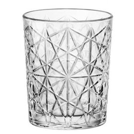 whisky tumbler Lounge Acqua 27.5 cl with relief product photo