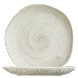 plate Sand Rocaleo porcelain  Ø 308 mm product photo