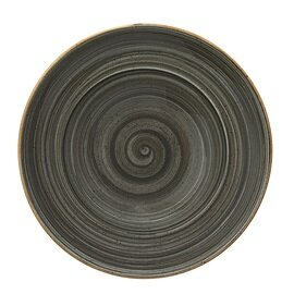 plate Gourmet Space AURA 400 ml porcelain grey  Ø 270 mm product photo