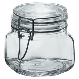 preserving jar 200 PRIMIZIE ERMETICO | 200 ml H 84 mm • clip lock|rubber ring product photo