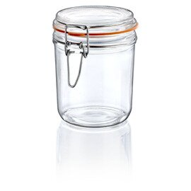 preserving jar 340 TERRINE ERMETICO | 340 ml Ø 100 mm H 103 mm • clip lock|rubber ring product photo