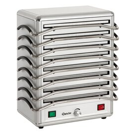 heater 8 with 8 hot plates 1250 watts 380 mm  x 250 mm product photo