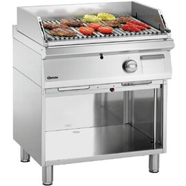 lava stone grill 700VR G180 floor model open base unit 18 kW  H 850 mm product photo