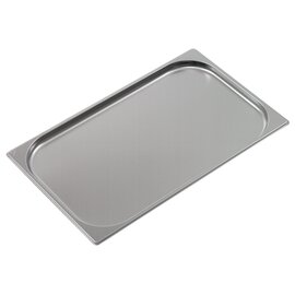 baking sheet GN 2/3 gastronorm stainless steel reinforced rim  L 354 mm  B 325 mm  H 40 mm product photo