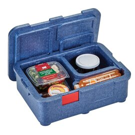 lunch box with lid EPP blue 485 mm  x 350 mm  H 165 mm product photo
