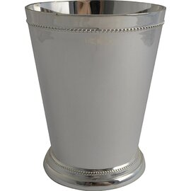 julep mug 35 cl stainless steel silver plated with relief  H 105 mm product photo