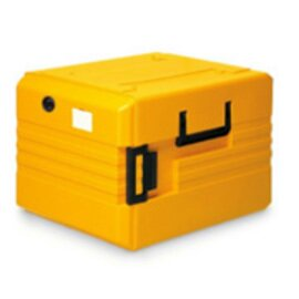 thermoport® TP 6000 KB orange • heatable 104 ltr  | 645 mm  x 790 mm  H 560 mm product photo