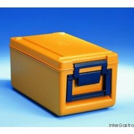 thermoport® TP 1000 KB orange • heatable 26 ltr  | 370 mm  x 645 mm  H 308 mm product photo