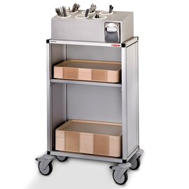 tray serving trolley AGW 507 white  H 1250 mm product photo