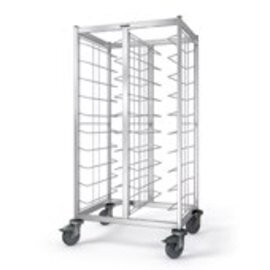 tray clearing trolley TWA 2 x 10 KN  | 460 x 344 mm  H 1550 mm product photo