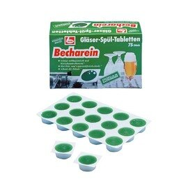 Becharein glass cleaning tabs 75 pieces 750 g product photo