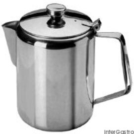 coffee pot with lid stainless steel 300 ml  H 95 mm product photo