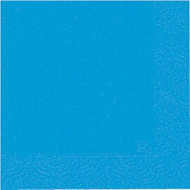 tissue napkins 3 ply fold 1/4 blue 8 x 250 pieces product photo