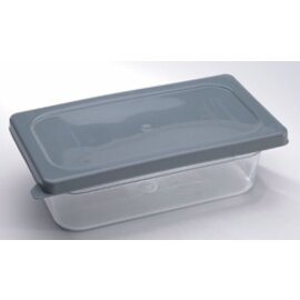 soft lid GN 1/1 polyethylene grey | double seal system product photo