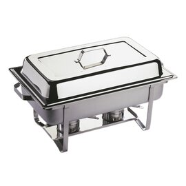 chafing dish GN 1/1 ECONOMIC removable lid 9 ltr  L 610 mm  H 300 mm product photo