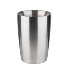 dressing pot 1400 ml stainless steel with double-walled  Ø 130 mm  H 190 mm product photo