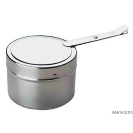 fuel paste container stainless steel  Ø 90 mm  H 60 mm product photo