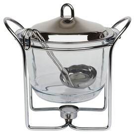serving bowl HOT POT with teapot warmer 4 ltr  Ø 230 mm  H 260 mm product photo