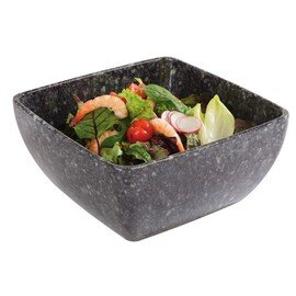 bowl PURE GRANIT 1500 ml melamine grey 190 mm  x 190 mm  H 90 mm product photo