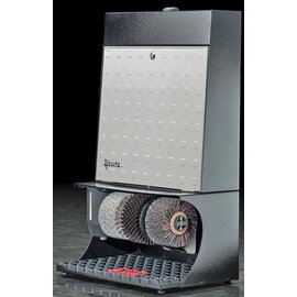 shoe shine machine Ronda 30 black with embossed door  | hand sensor product photo