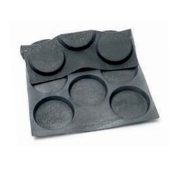 baking mould baker's standard  • hamburger | 11-cavity | mould size Ø 125 x H 18 mm  L 600 mm  B 400 mm product photo