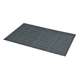 baking mould baker's standard  • Eclair | 36-cavity | mould size 125 x 25 x H 5 mm  L 600 mm  B 400 mm product photo