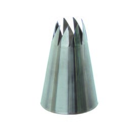 piping tip stainless steel  H 52 mm product photo
