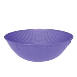 bread mould plastic natural fibres antibacterial purple round bread weight 500 g Ø 190 mm product photo