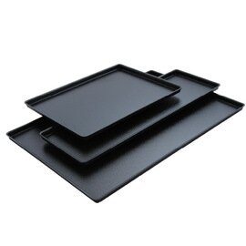 display tray plastic black  L 300 mm  B 190 mm  H 20 mm product photo