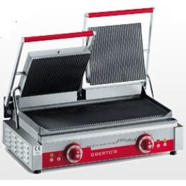 contact grill PDR/LD  | 230 volts | cast iron  • grooved  • grooved product photo