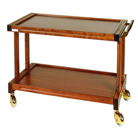 B-Stock | serving trolley  | 2 shelves  L 1060 mm  B 500 mm  H 825 mm product photo