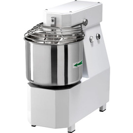 B-Stock | Spiral kneading machine 12 / SN, with fixed head, capacity 36 kg / hour, 12 kg per cycle, stainless steel container Ø 320 x H 210, 1 speed, 400V product photo