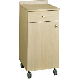 service cabinet oak coloured 450 mm  x 480 mm  H 950 mm with 1 drawer with wing door product photo