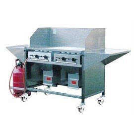 industrial double grill THÜROS IV floor model 14.4 kW (Gas)  H 850 mm product photo